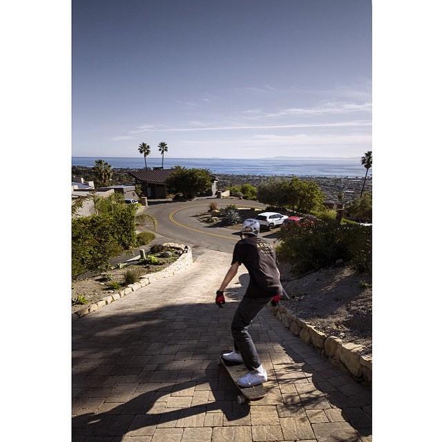 @nycl_joey loving the Santa Barbara sunshine! PC: @santa_gnarbara #calibertrucks