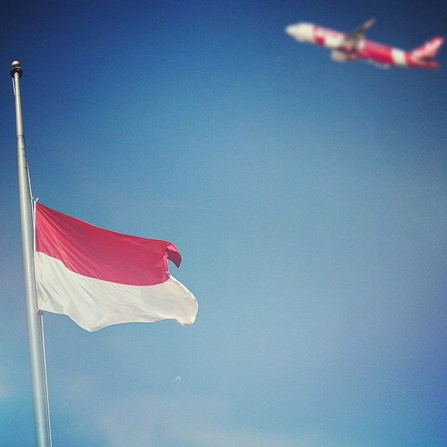 Indonesia grieves today || Our thoughts are with the families of Flight QZ8501