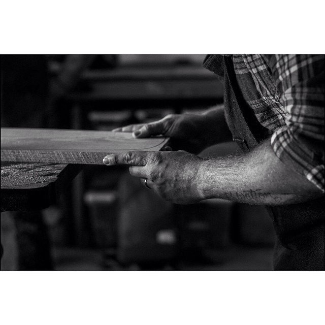 Working to build up that stock after the holidays. Photo cred: @michaelthinks #handmade #handmadeskateboard #skate #skateboard