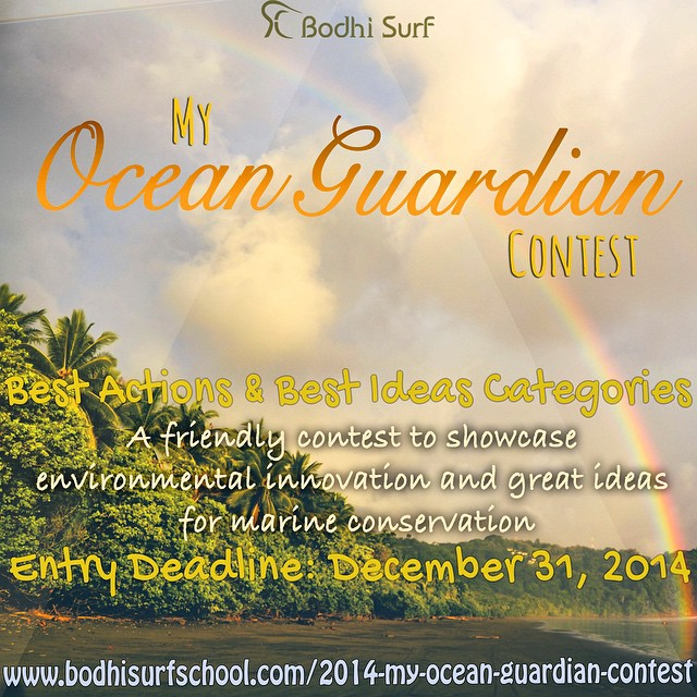 Today is not only the last day of 2014, it is also the deadline to enter our 2nd Annual My Ocean Guardian Journey Contest! We hope you will take a moment to enter your Best Actions and/or Best Ideas for marine conservation. We are very much looking...