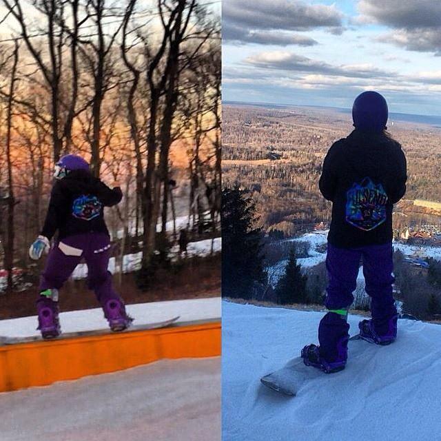 @shainakassaleh #justsendit #snowboarding #camelback #lhm #lakehopatcong #sendit #myfriendisapro