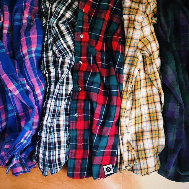 Every year one of our #newyearsresolutions is to wear more flannel. And because you obviously woke up and thought the same thing...today, tomorrow and Friday we will hook you up with a rad Kinda Fancy up-cycled flannel when you spend $100 or more at...