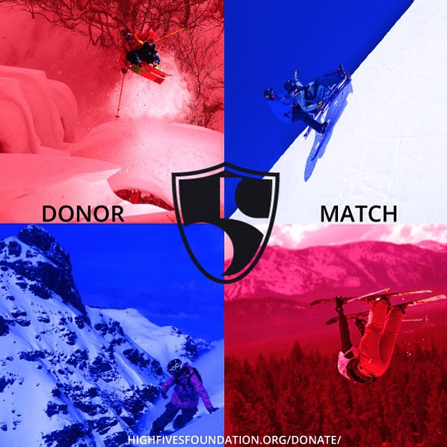 Give today and your gift will be matched! #HighFivesAthlete #DonorMatch | Link in our bio |