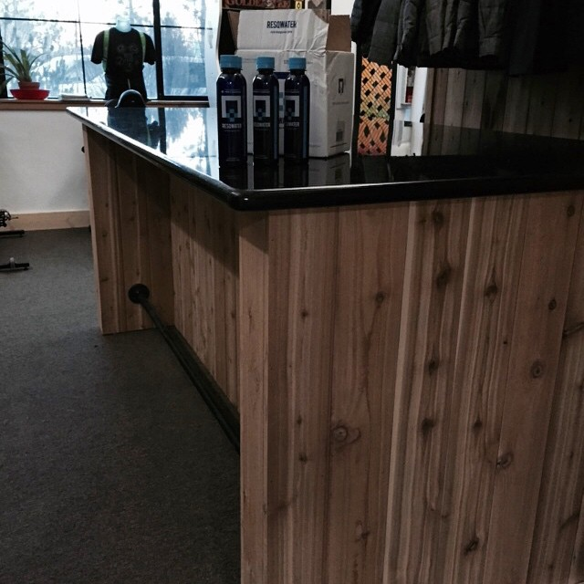 We just put a bar in at the @crj_healingctr and it is stocked with @resqwater