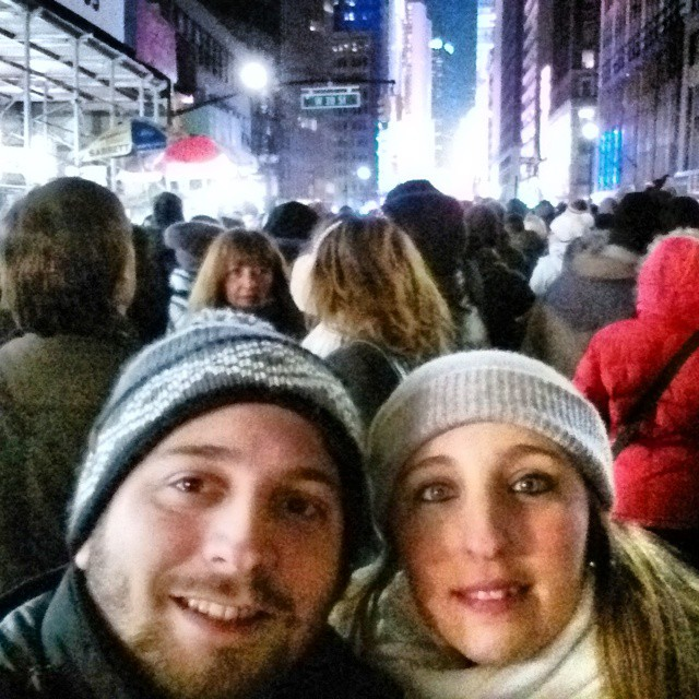 Una vez en la vida hay que pasar año nuevo en Times Square... (o lo más cerca que se pueda)