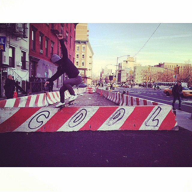 @marcellocampanello -  Crooked Grind in NYC. Photo:@canalnewyork