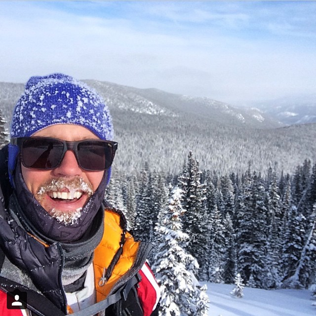 Olympic bronze medallist shredder @adeibold is getting after it today in the -7 temps with a big smile and the new AV7 Arctic Tshield to keep his face toasty. How are you kicking off 2015? #avalon7 #liveactivated #snowboarding #av7renegade www.avalon7.co