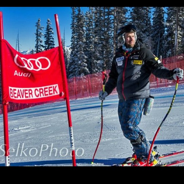 Headed to Beaver Creek today to see @travisganong @skifastfish and Marco Sullivan .... Sending !!!