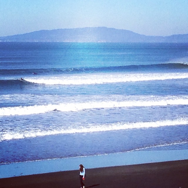 How were your waves this morning? Seemed liked the best day of the year so far for us...