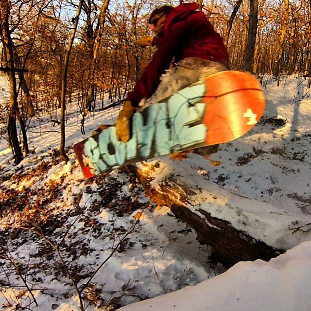 Team rider from #Minnesota @jgrahamproductions❄️#FrostyHeadwear #Snowboarding