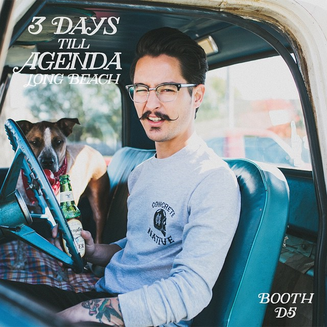 The countdown continues, 3 days until @agendashow Long Beach! #boothD5 #agendashow #concretenative #agendashowLB