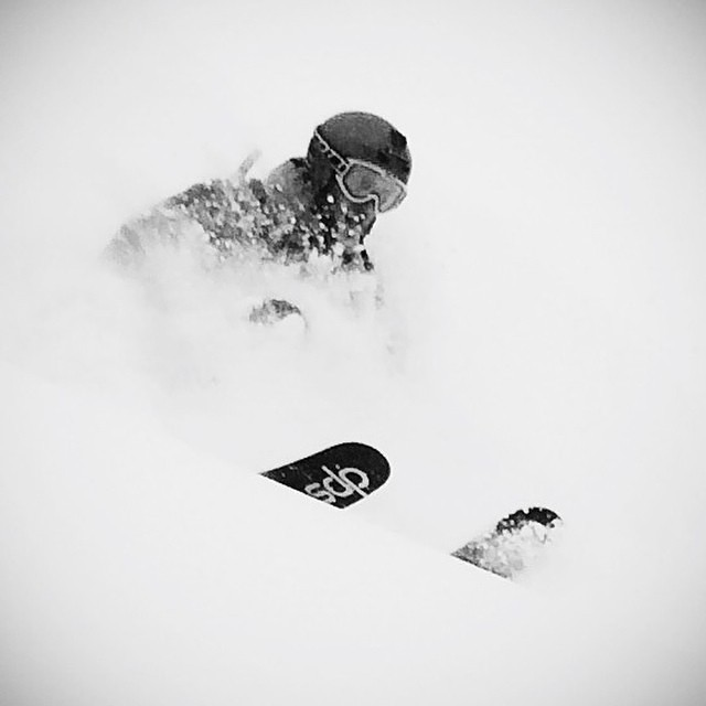 The DPS home of the Wasatch Mountains just came up for air after being pummeled by holiday storms. Though our friends to the north, in Montana, are about to get their turn. Photo: @bennobel. #dpsskis #skiing #powder #wailerRPC