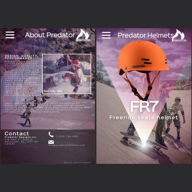 Predator 2015 update: New site has been launched as of yesterday! Looking fresh. Go check it out! We've got some new products for 2015 that will be available Starting March! www.predatorhelmets.com Thanks to Hayato Tanaka for putting this one together!...