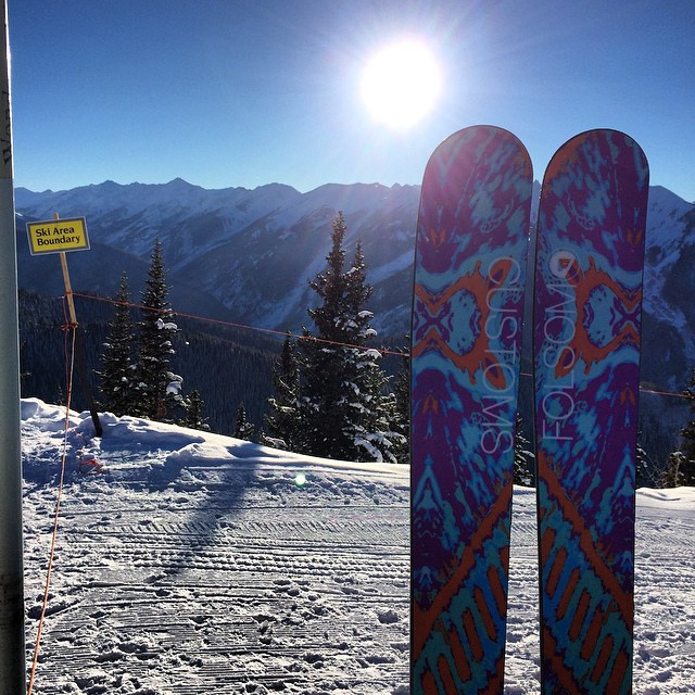 2015 is starting off with a bang! @aspensnowmass #madeintheusa