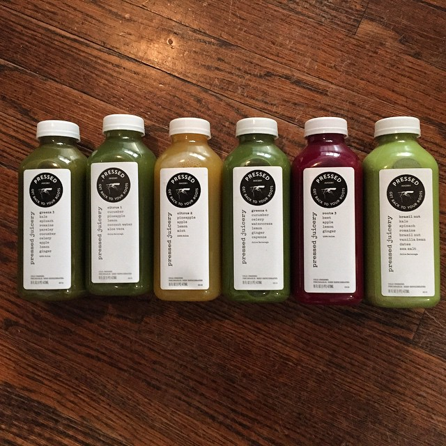 Jump-starting 2015 with a @pressedjuicery cleanse after a gluttonous end to 2014 #juice #cleanse #healthy #newyear #backingear