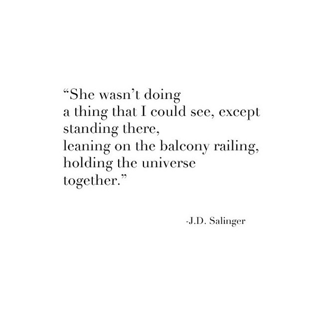Sexy Salinger #allswell