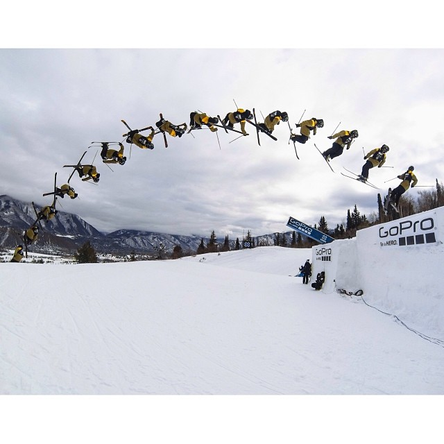 @twallisch sending it thanks to @gopro ! You getting out on the mountain this weekend? #xgames