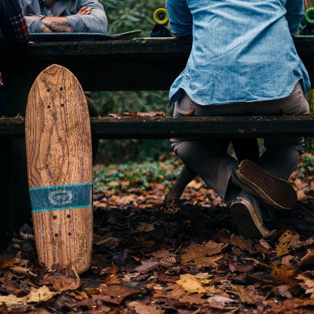 Go outside. Photo Cred: @_anchored #skatetheedges #handmade #handmadeskateboard #skate #skateboard