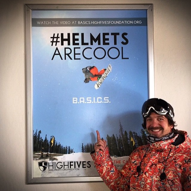 Four years ago this champion started a fight like no other // stoked you are still here positively influencing our community and spreading the mission that #helmetsarecool