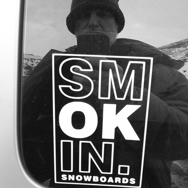 Day 2 of #SmokinTrip2015 guys are in #Utah #forridersbyriders #HandMadeLakeTahoe