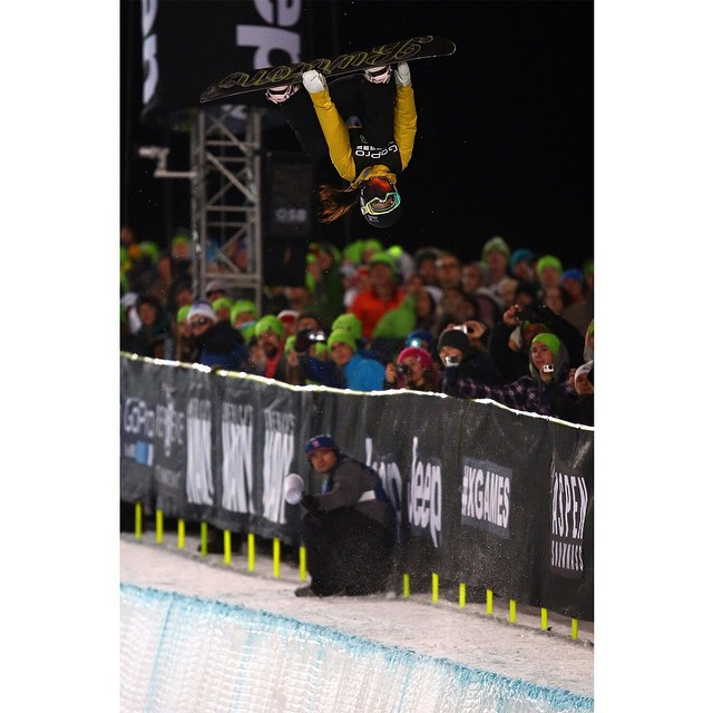 Don't flip out!  #XGames Aspen is only 18 days away.