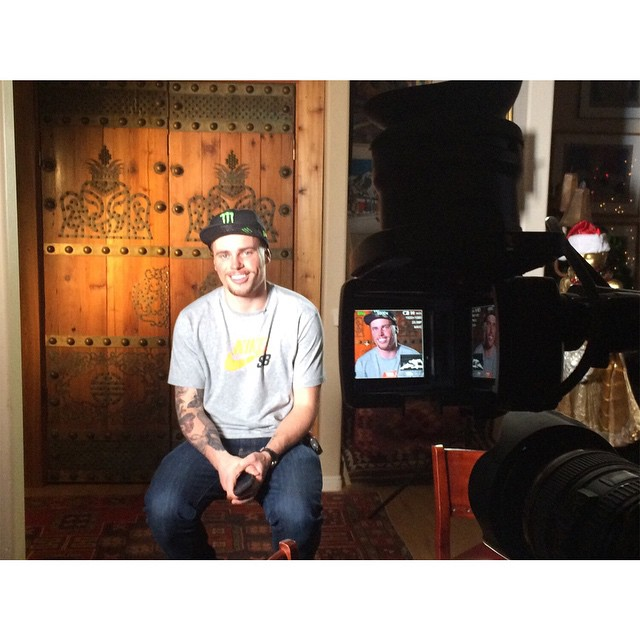We're in Telluride, Colo., filming with @guskenworthy.  Check him out on our #XGames Aspen Preview Show Jan. 17 on ABC! (
