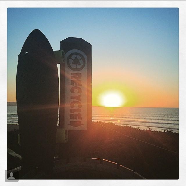 Recycled sunset from @amddrum #netstodecks