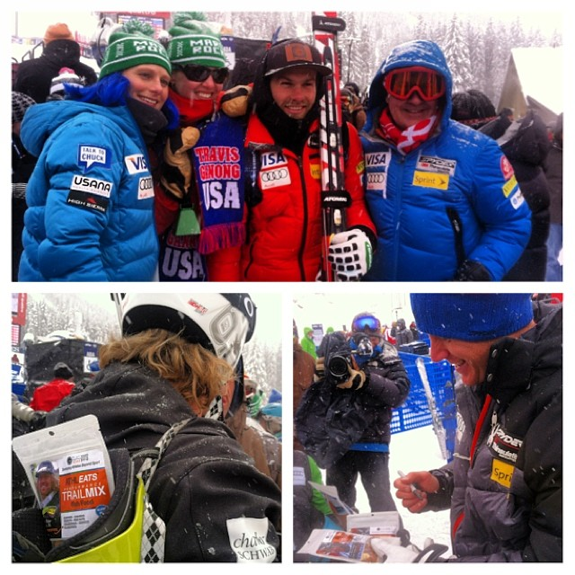 #phgb athletes @travisganong @skifastfish and Marco Sullivan today at Beaver Creek||Birds of Prey World Cup !! Great job guys!