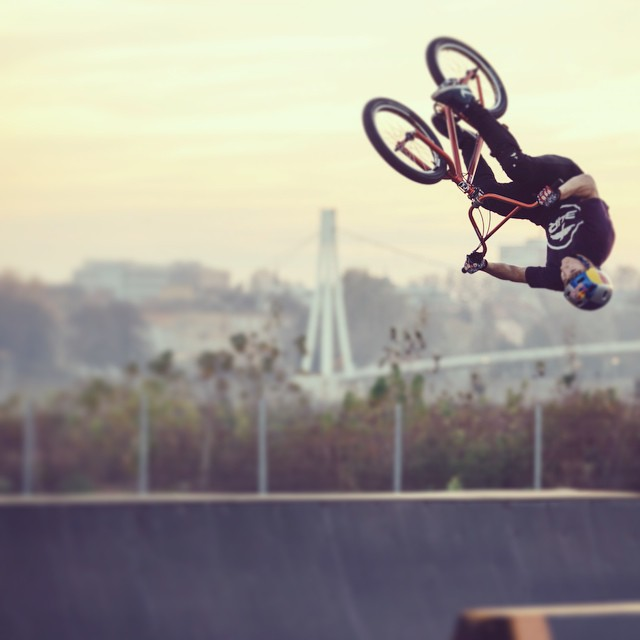 Head over wheels. Over head. #martinrantes #bmx #croatia