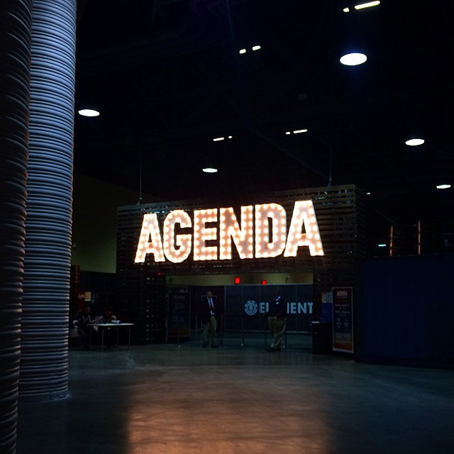 Another #agendashow #omgmodels #omgtradeshows #somanybeards #totally #americanskateboards  @agendashow @americansk8