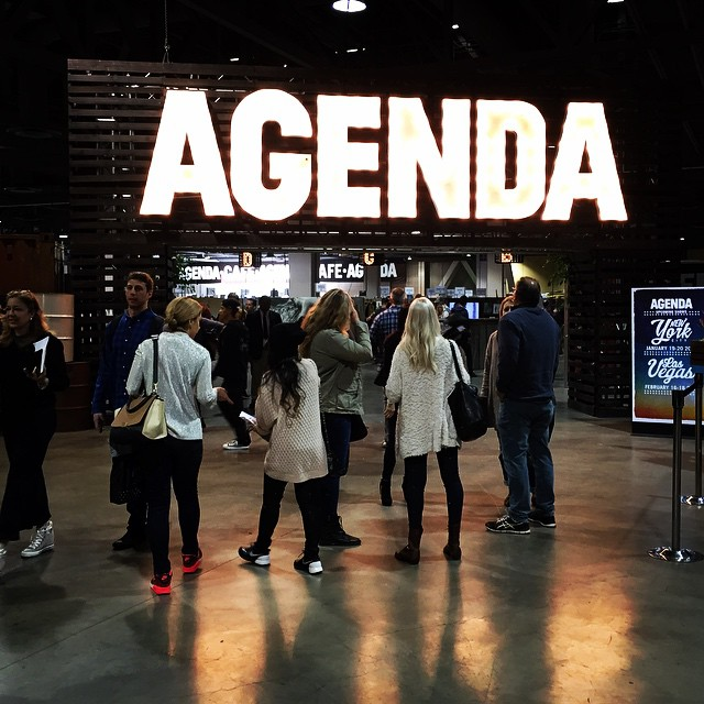 Showing off lots of new colors at @agendashow in Long Beach. 2015 is looking good! #agendashow #agendaLB