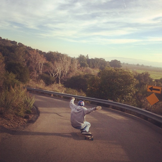 Michael Carson--@mcarsonlikescats hanging out on a left!  #michaelcarson #bonzing #skateboarding #california #skateeverything