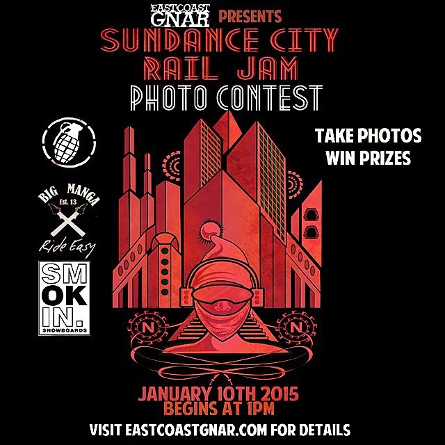 We teamed up with @nashobaparks and @eastcoastgnar for this #SundanceCityRailJam #photocontest we are stoked to be involved with creative contests like this! #forridersbyriders #HandMadeLakeTahoe