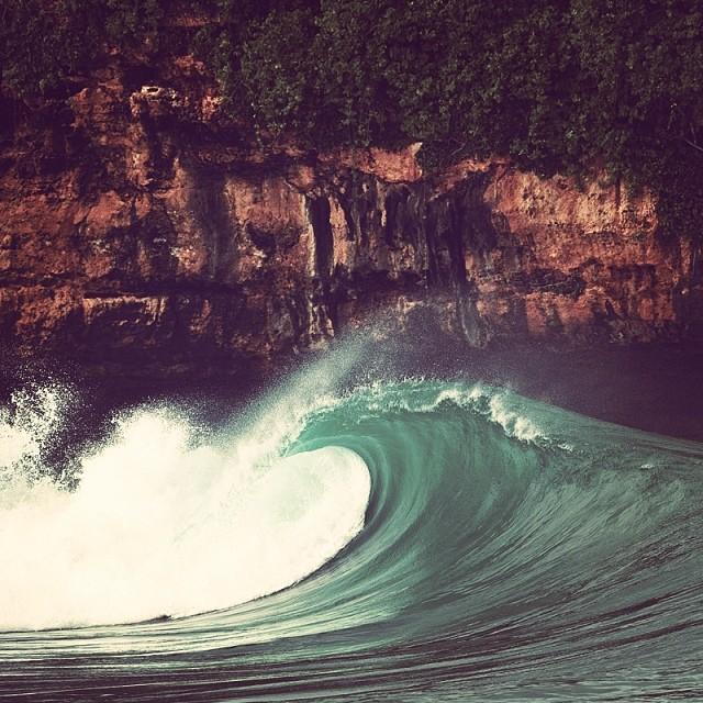 Una que se va sola. #wave #surf #surfing
