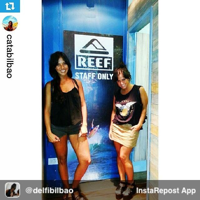 Repost from @delfibilbao via @igrepost_app, it's free! Use the @igrepost_app to save, repost Instagram pics and videos, #Repost @catabilbao ・・・ El #TeamPR equipandose para el #CoronaReefClassic2015  #StaffOnly » Gracias @reefargentina  17 al 24 de...