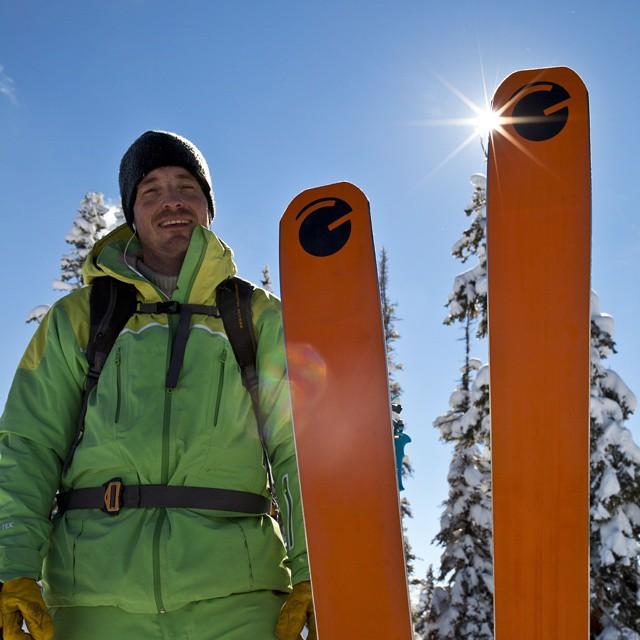 #Colorado blue #orangehot @d.r.e.w.rouse #kiwi all smiles!  captured by @benkoelkerphoto