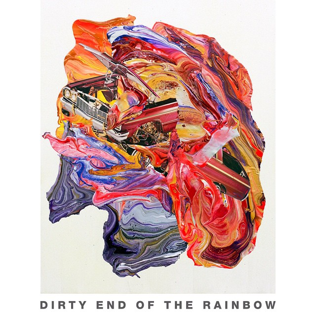 Follow the rainbow to the dirty end.... @mikeparillo's new collection of originals takes a trip in to the dirty, wild unknown.  Link in profile.