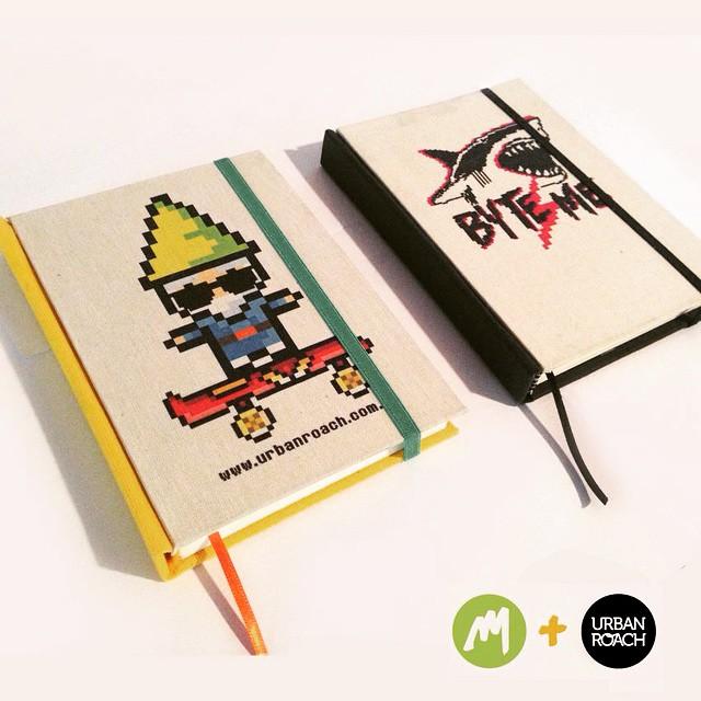 Cuadernos artesanales Maraña con diseños de @urban_roach, pedi el tuyo. Hecho con amor y pixeles