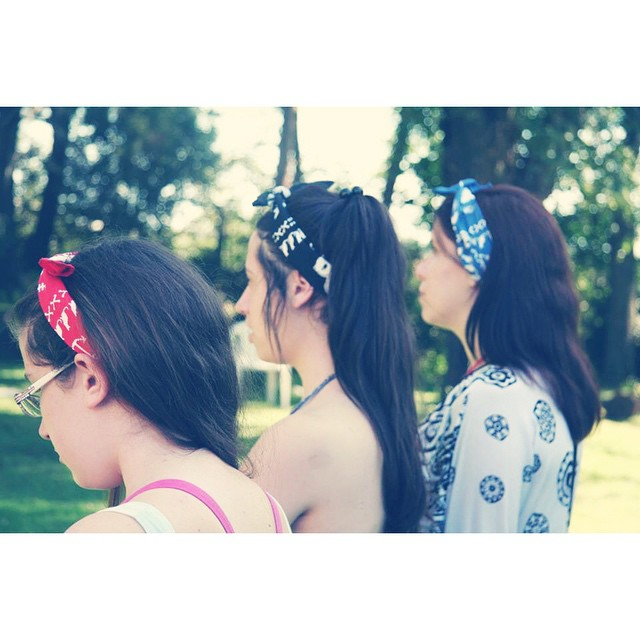 Bandanas Cherry & Dark & Navy