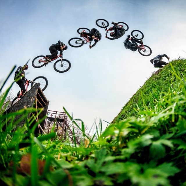 The grass is always greener.  Athlete: @szymongodziek Photographer: Piotr Staron