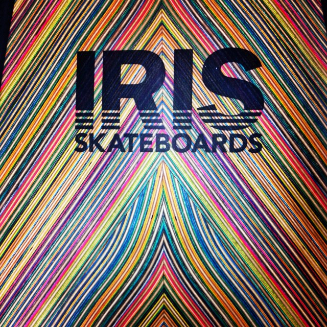 It's a new year people. Let's see some progression. Recycle, redesign, reinvent, recreate.  #recycledskateboards #irisskateboards