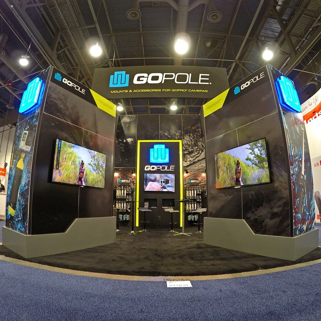 We are at CES 2015 in Las Vegas! Come check us out at booth #15030 Central Hall. #gopole #ces2015 #lasvegas