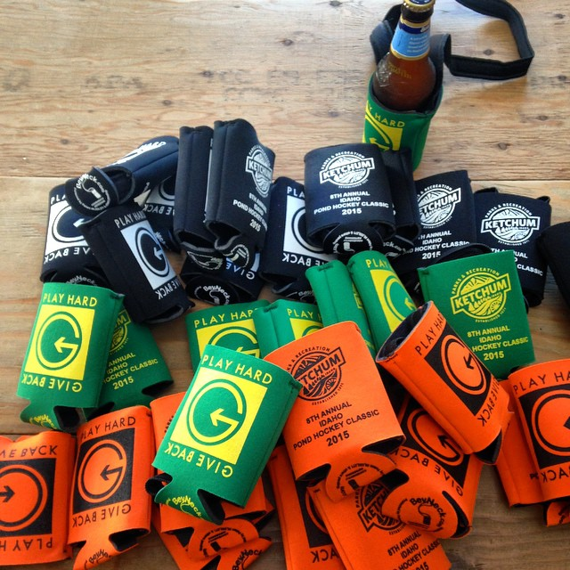 Anyone remember our #phgb Neck Koozies?? Well, we're bringing them back for the 2015 Pond Hockey Classic. This weekend come out to Ketchum Parks and Recreation for the Pond Hockey shenanigans and receive one of these bad boys loaded with trail mix......
