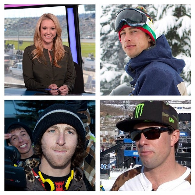 We're excited to welcome @rb_mrs, @craigmcmorris, @jackmitrani and @lukevanvalin to our #XGames Aspen broadcast team!