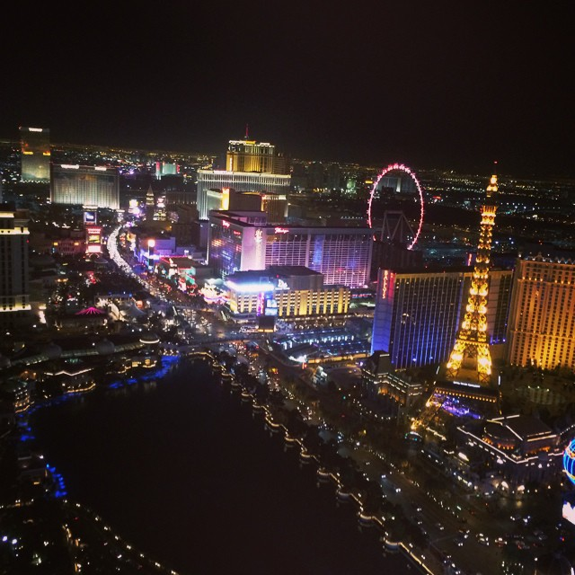 That's a good view. #vegas #lasvegas #cosmopolitan #boombotix #ces