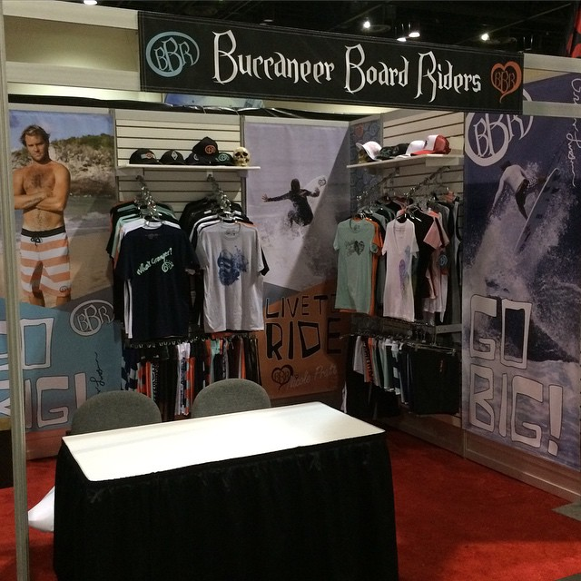 Come on by and see us at booth 518 at Surf Expo Orlando, FL. Starting today!  @bbrsurf @grangerlarsen #bbr #bbrsurf #buccaneerboardriders #518 #surfexpo #orlando #florida #grangerlarsen #teamrider
