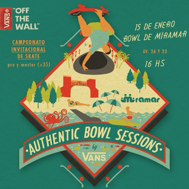 Se viene la segunda edición del Authentic Bowl Sessions. Los mejores bowlriders de la región dirán presente en una jornada a puro skate