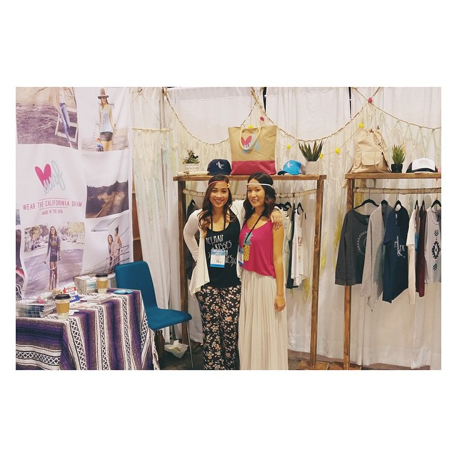 Day one at Surf Expo! #booth1618 #surfexpo #surf #luvsurf @shelliestyle