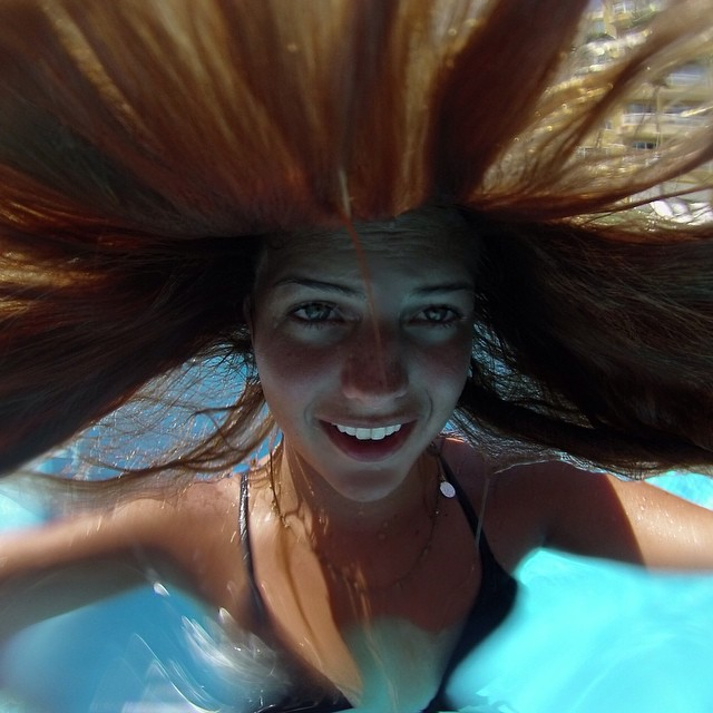Photo of the Day! Mermaids don't have bad hair days. Photo by @elisariquezes.