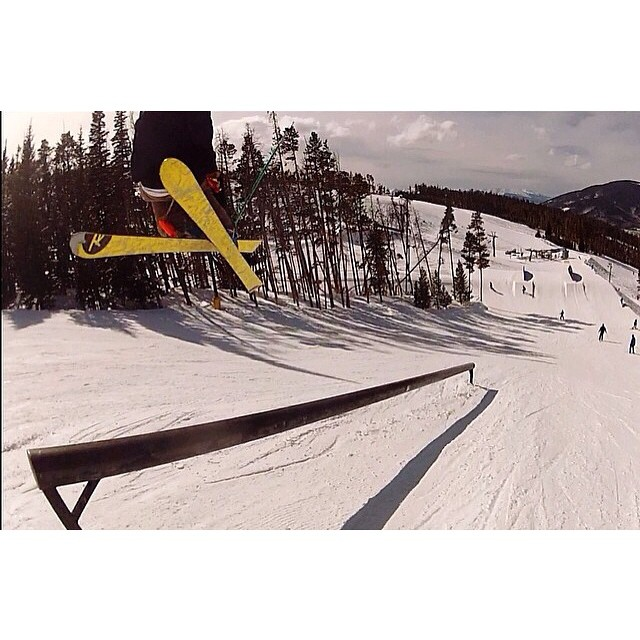 Team rider from #Colorado @al_nolan❄️#FrostyHeadwear #Skiing #EmbraceYourOpportunity